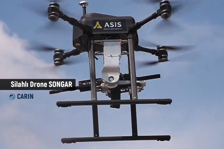 Silahlı Drone Songar TSK'ya Teslim Edildi